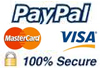 PayPal 100% Secure Online Payments